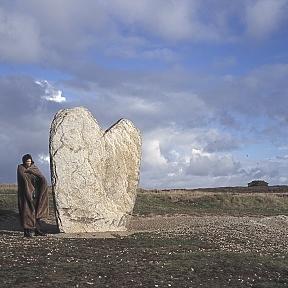 Heart Menhir Sonya Lea by Carole Harmon