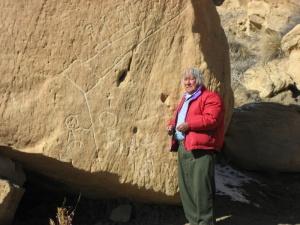 Hopi Grandfather Martin at Prophesy Rock