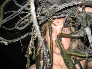 Melissa Weiss Steele Earthen Body series Whariki Medusa New Zealand 2007