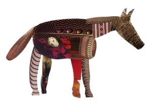 Melissa Weiss Steele Navajo Zebra collage 2005
