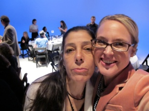 Connie Parriott & I at the Chihuly roast