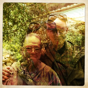Our two Dick, Marquis and Weiss through the Hipstamatic Salvador lens. OH JOY!