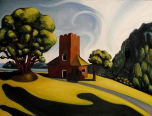 Kristina Von Heinz painting