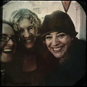 Mellissae Lucia, Lisa de St. Croix, and Carrie Paris
