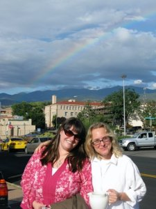Amy and I in Santa Fe