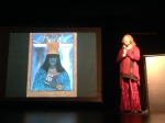 Lisa speaking about her deck at the Living Tarot event in Durango, Colorado, October 2103
