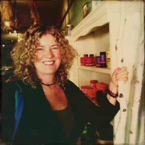 Lisa in Durango, CO for the Living Tarot event