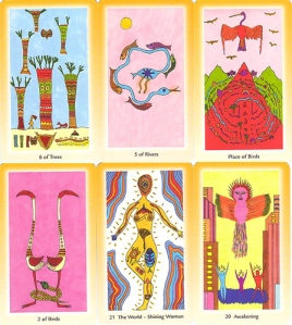 The Shinning Tribe Tarot by Rachel Pollack