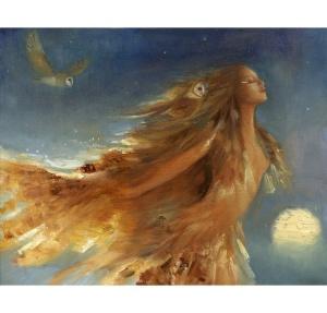 David Joaguen's Owl Woman