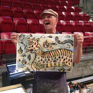 Bob excited about going forward with another run of his print