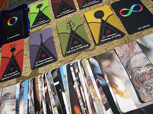 New Tarot-sized nicely-priced Oracle of initiation deck is HERE!