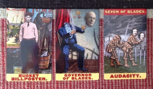 My first spread with the Tarot of the Zirkus Magi