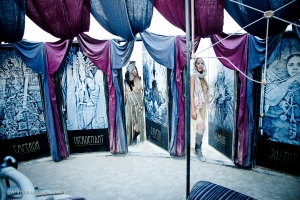 Burning Man installation