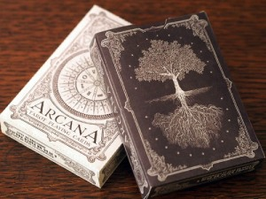 The forthcoming Arcana Playing Cards