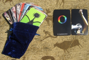 Tarot-sized Oracle cards